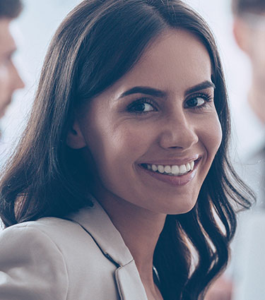 Happy Smiling Patient